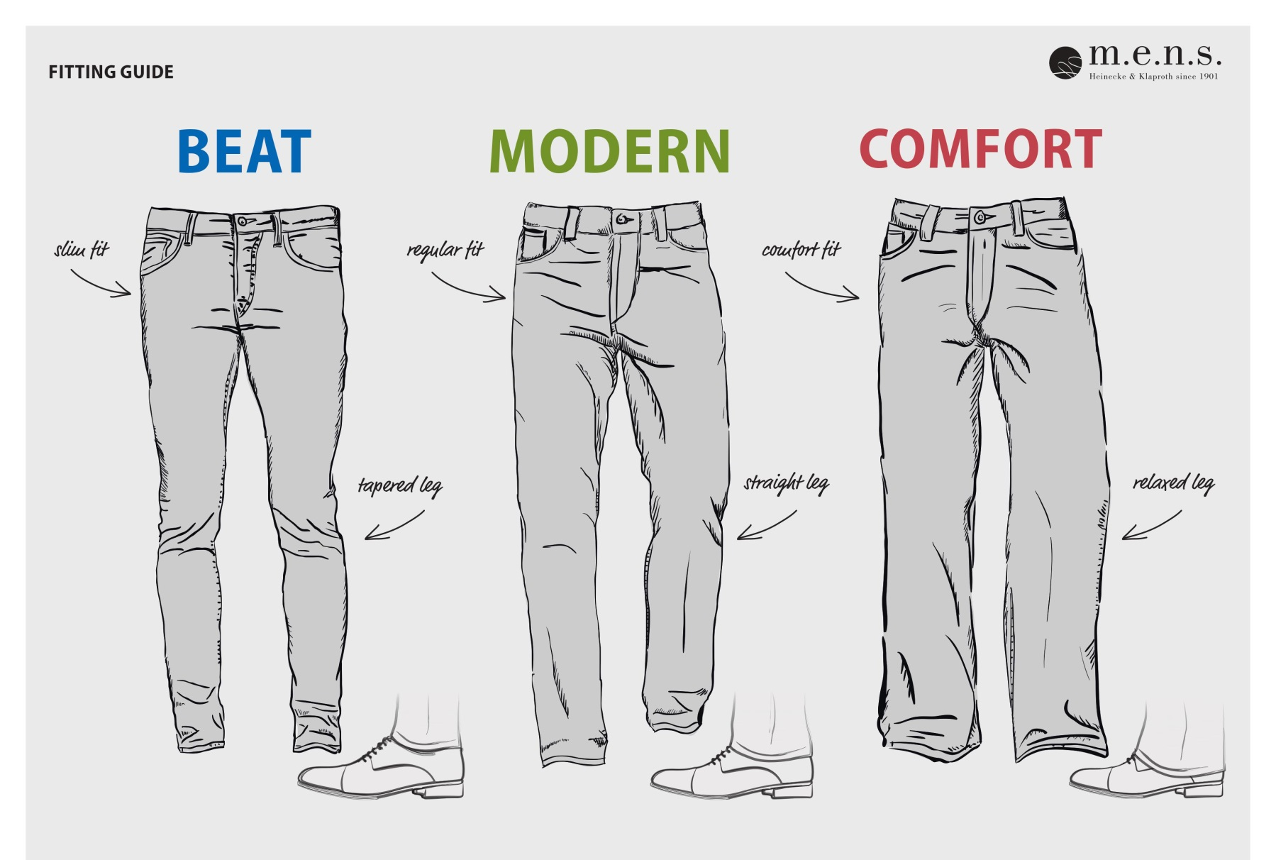 Casual Denim Fitting Guide
